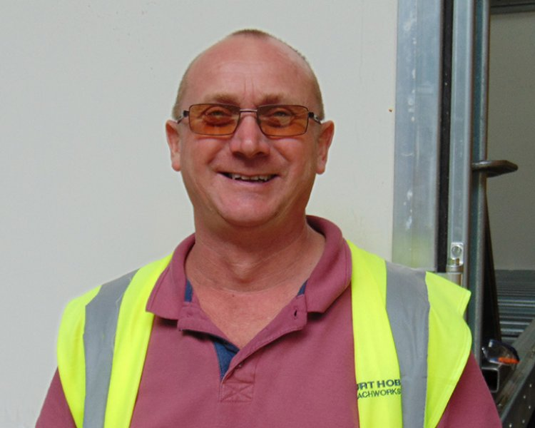 Ian Whitmore, Health and Safety Officer