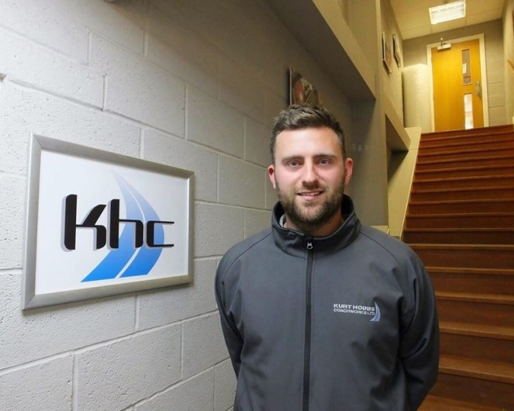 Matthew Baxter, Stores and Parts Manager